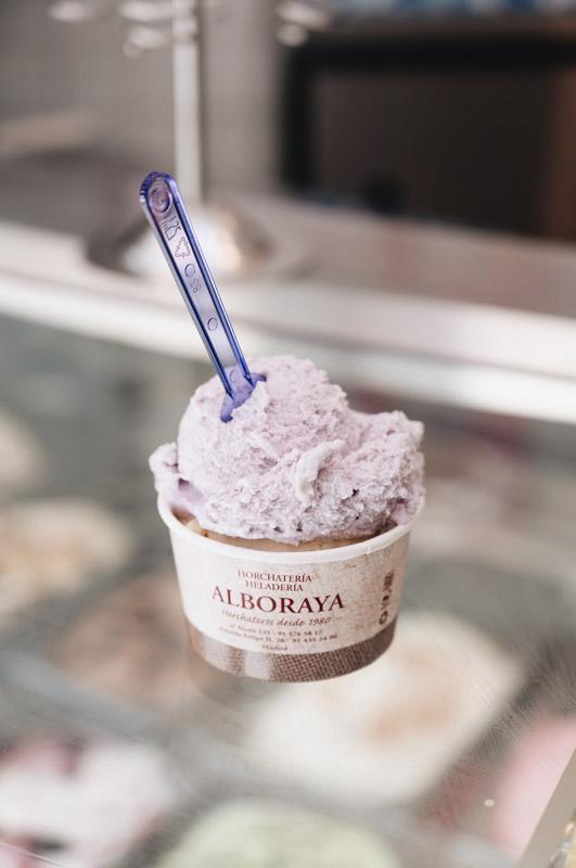 helado alboraya horchata madrid