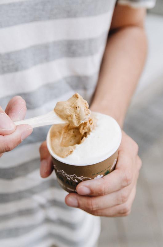 los alpes helado artesano