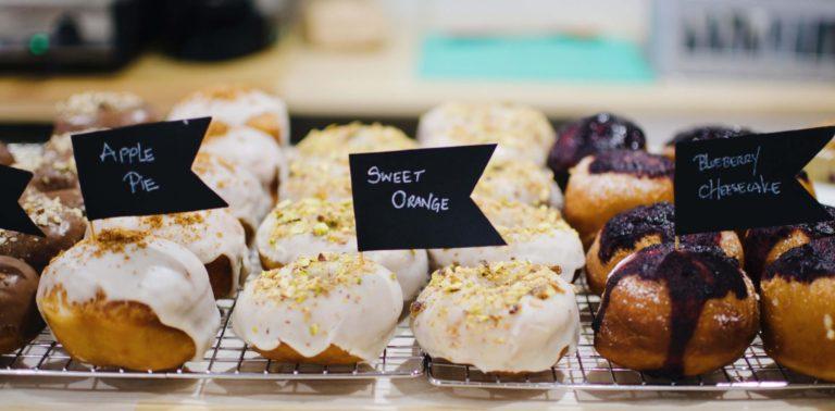 Delish Vegan Doughnuts: templo de donuts en Conde Duque