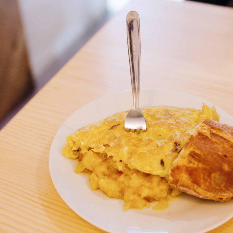 tortilla de patatas casa dani madrid