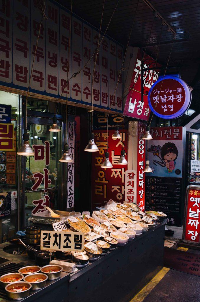 Myeong-dong market