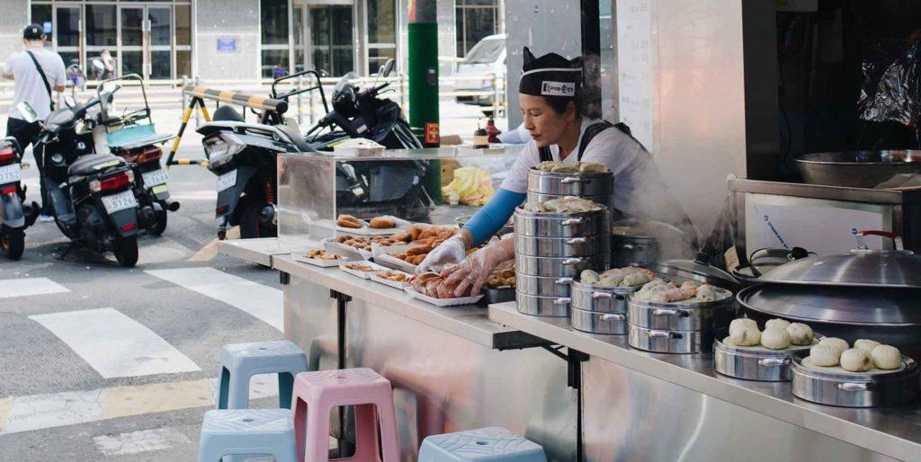 Guía de street food coreana