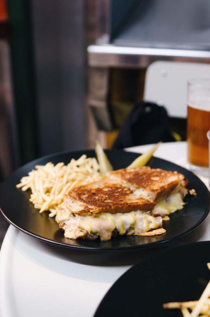 sandwich de pastrami craf 19