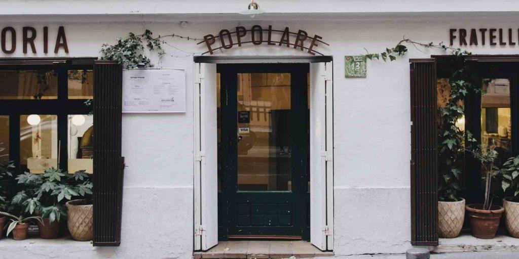 Trattoria Popolare: casa de comidas napolitana