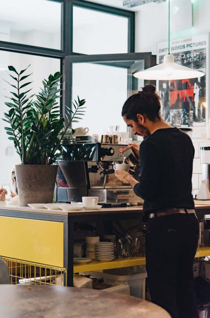toma cafe plaza de olavide