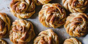 receta rollos de canela suecos